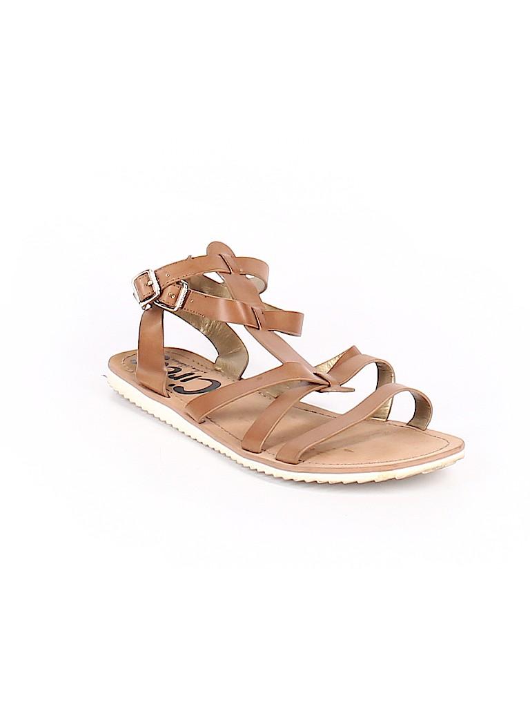 1771d7c9463d88 Sam Edelman Solid Brown Sandals Size 9 1 2 - 81% off