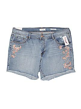 Jessica Simpson Denim Shorts Size 18 (Plus)
