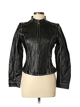 Metrostyle Leather Jacket Size 8