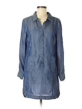 Nic + Zoe Long Sleeve Button-Down Shirt Size S