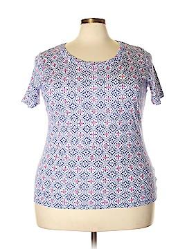 Charter Club Short Sleeve T-Shirt Size 2X (Plus)