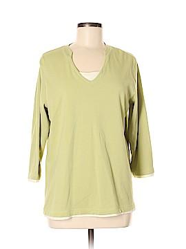 D&Co. 3/4 Sleeve T-Shirt Size L