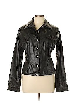 Sasch Faux Leather Jacket Size L