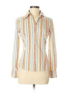 Elie Tahari Long Sleeve Button-Down Shirt Size S