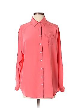 Dora Landa Long Sleeve Silk Top Size XS