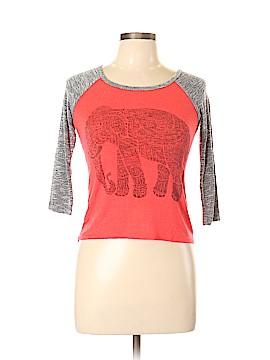 Moa Moa 3/4 Sleeve T-Shirt Size L