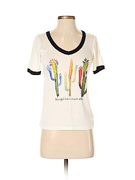 Three Hearts Short Sleeve T-Shirt Size S