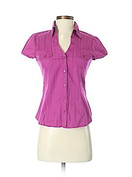 BCX Short Sleeve Button-Down Shirt Size S
