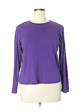 Christopher & Banks Long Sleeve T-Shirt Size XL