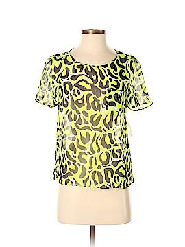 Gryphon New York Short Sleeve Silk Top Size XS