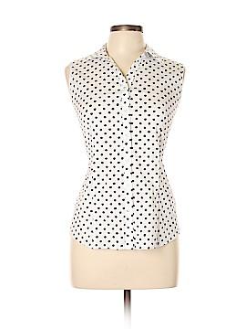Charter Club Sleeveless Button-Down Shirt Size 12