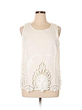 Cynthia Rowley TJX Sleeveless Blouse Size XL