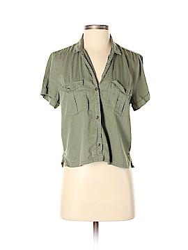 Hollister Short Sleeve Button-Down Shirt Size M