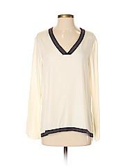 Drew Long Sleeve Silk Top