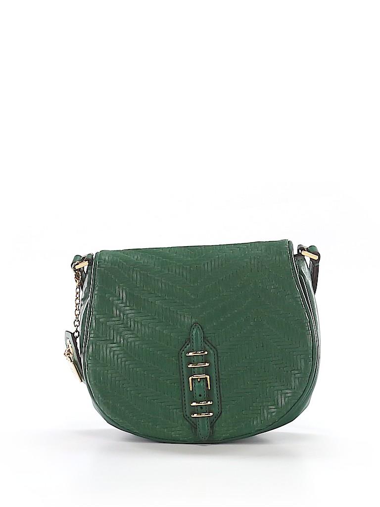 12fcae42d0 Lauren by Ralph Lauren Solid Dark Green Crossbody Bag One Size - 60 ...