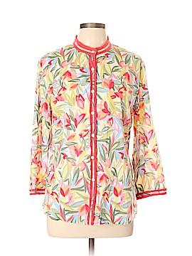 Susan Bristol 3/4 Sleeve Blouse Size L