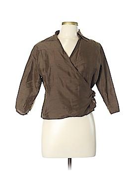 Silkland 3/4 Sleeve Silk Top Size 12