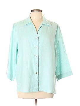 Orvis Short Sleeve Button-Down Shirt Size L