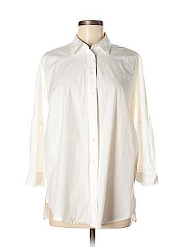 Athleta 3/4 Sleeve Button-Down Shirt Size XS