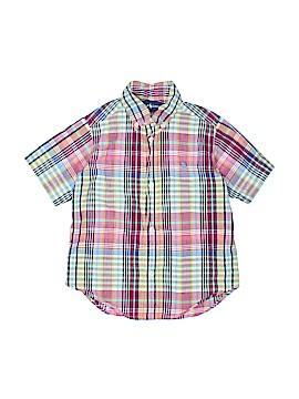 Ralph Lauren Short Sleeve Button-Down Shirt Size 3 - 3T