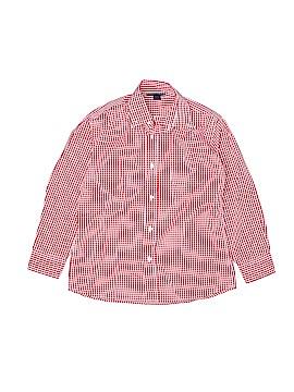 Oscar De La Renta Long Sleeve Button-Down Shirt Size 8