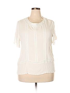 Coconuts Short Sleeve Blouse Size 2X (Plus)