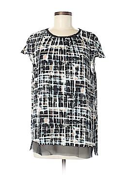 Simply Vera Vera Wang Short Sleeve Blouse Size M