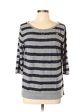 Hollister 3/4 Sleeve T-Shirt Size L