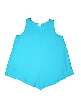Kim Rogers Sleeveless Blouse Size M