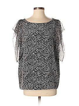 Saint Laurent Short Sleeve Blouse Size S