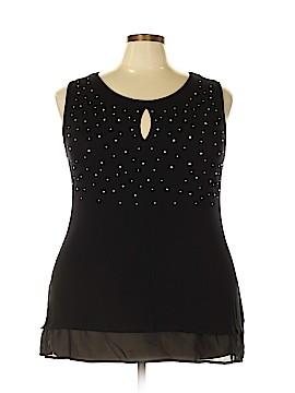 Belldini Sleeveless Top Size 3X (Plus)