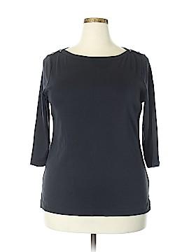 Lands' End 3/4 Sleeve T-Shirt Size 1X (Plus)