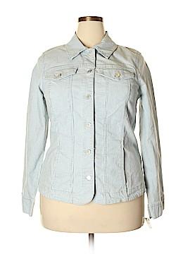 Charter Club Denim Jacket Size 1X (Plus)