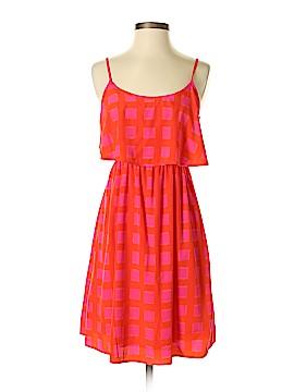 Peach Love Cream California Casual Dress Size S