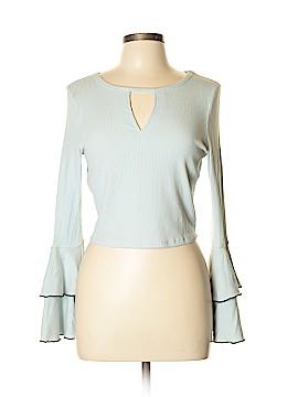 En Creme Long Sleeve Top Size L