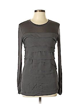 Diane von Furstenberg Long Sleeve Blouse Size M
