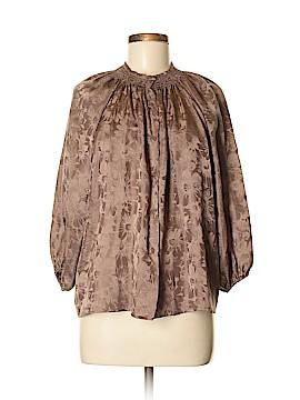 Tucker 3/4 Sleeve Silk Top Size Med - Lg