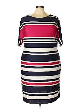 Karin Stevens Casual Dress Size 2X (Plus)