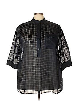 Lafayette 148 New York 3/4 Sleeve Blouse Size 2X (Plus)