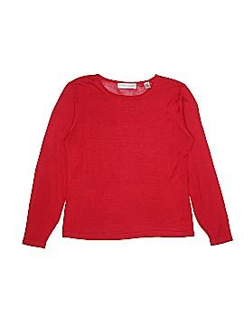 Valerie Stevens Silk Pullover Sweater Size M (Petite)
