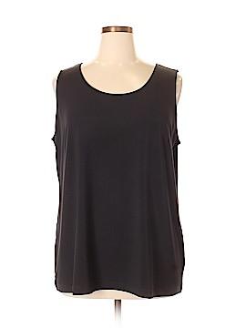Joan Rivers Sleeveless Blouse Size XL