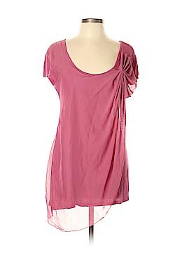 DownEast Basics Short Sleeve Blouse Size XL