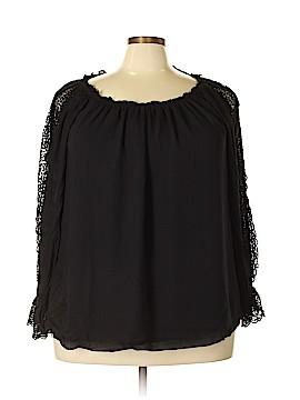 Jessica Simpson Long Sleeve Blouse Size 1X (Plus)
