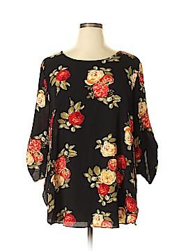 Umgee 3/4 Sleeve Blouse Size 1X (Plus)