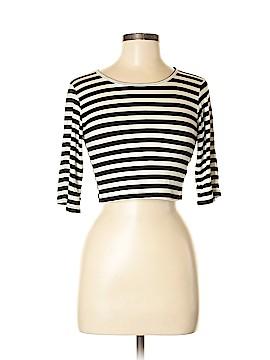 B Jewel 3/4 Sleeve T-Shirt Size M