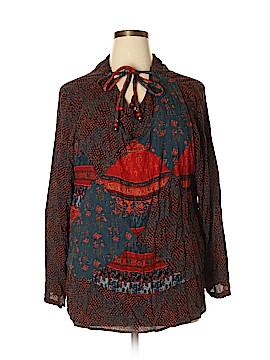Carole Little Long Sleeve Blouse Size 14