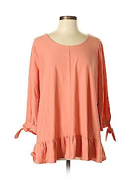 Style&Co 3/4 Sleeve Blouse Size 0X (Plus)
