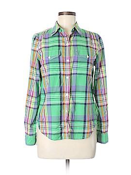 Polo Jeans Co. by Ralph Lauren Long Sleeve Button-Down Shirt Size M (Petite)