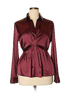 New York & Company Long Sleeve Blouse Size 16