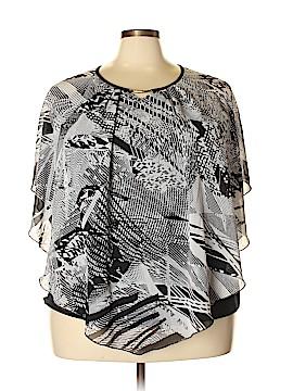 Avenue Short Sleeve Blouse Size 22 - 24 Plus (Plus)